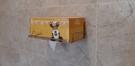 面紙盒架 無痕掛勾 浴室收納 304不鏽鋼 超黏 凹凸紋路牆面可貼 台灣製造 熊好貼