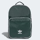 adidas 後背包 Originals Classic Backpack 經典 背包 雙肩背 三葉草 綠 白 【PUMP306】 CW0629