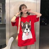 春夏裝上衣2018韓版時尚新款短袖t恤