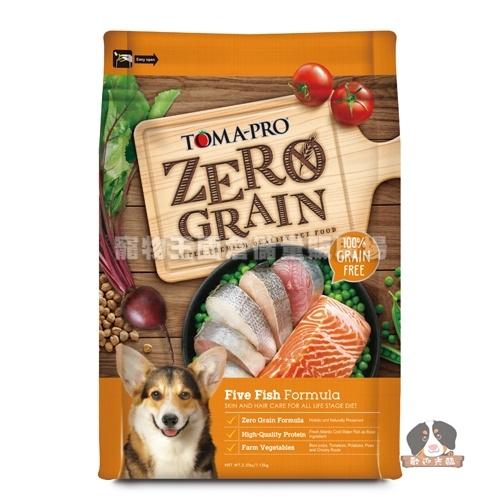 【寵物王國】優格-零穀全齡犬5種魚(晶亮護毛配方)15磅(6.8kg)