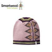 【美國 SmartWool 女款雙面緹花小圓帽 《木玫粉》】SW010456/保暖針織帽/毛線帽/羊毛帽