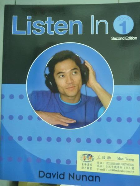 【書寶二手書T9/語言學習_PMV】Listen in-Student Book 1_David Nunan_2/e_樣