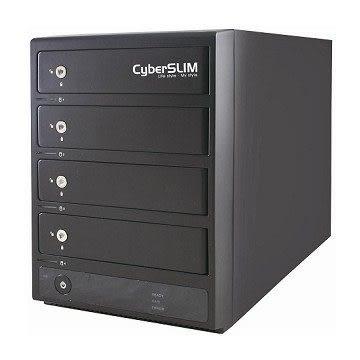 【台中平價鋪】全新 CyberSLIM S84-U3S 3.5吋四層磁碟陣列外接盒