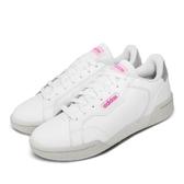 adidas 休閒鞋 Roguera 白 粉紅 女鞋 小白鞋 皮革鞋面 運動鞋 【PUMP306】 EH2532