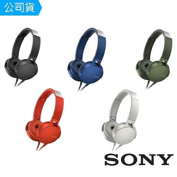 SONY EXTRA BASS 重低音頭戴式耳機 MDR-XB550AP 台灣公司貨