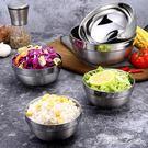 圖拉朗 304不銹鋼雙層隔熱碗家用加厚防燙飯碗兒童碗湯碗泡面碗  范思蓮恩