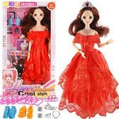 芭比娃娃換裝芭比娃娃大禮盒兒童女孩衣服玩具洋娃娃婚紗 nm2006【VIKI菈菈】
