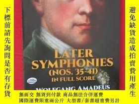 二手書博民逛書店Later罕見Symphonies(Nos.35-41) in