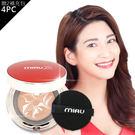 MIAU童顏精華安瓶粉餅(正貨4入+補充粉餅2入)|唯美的底妝,最適合東方女孩的膚色