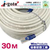 [富廉網] i-gota CAT6A超高速網路傳輸線 30M(RJ-MW6A-030)