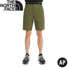 【The North Face 男 快乾短褲AP《橄欖綠》】4U9D/休閒短褲/戶外短褲