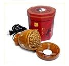 漢灸儀溫灸器經絡能量儀熱灸刮痧器養生溫灸罐陶瓷110V 非凡小鋪