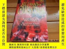 二手書博民逛書店ALL罕見I WANT FOR CHRISTMASY19865