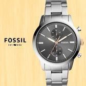 FOSSIL美國品牌Townsman雅痞紳士計時腕錶FS5407公司貨
