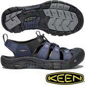 KEEN 1018940深藍/黑 Newport Hydro男戶外護趾涼鞋 水陸兩用溯溪鞋 東山戶外