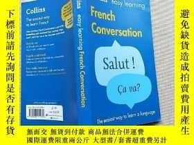 二手書博民逛書店Collins罕見Easy Learning French Conversation(32開)見圖Y13882