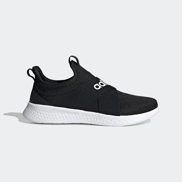 Adidas Puremotion Adapt [FX7326] 女鞋 運動 休閒 慢跑 襪套 懶人 舒適 愛迪達 黑白