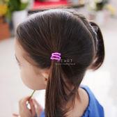 兒童彈力竹節不傷髮髮圈 6入組 兒童髮飾 糖果色 彈性髮圈