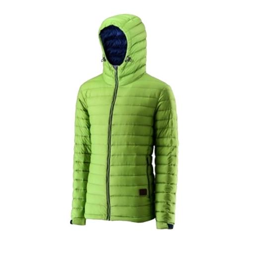 荒野Wildland  連帽輕量羽絨外套 羽絨服 (0A22112-37 淺綠) 男~特惠5折