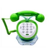 復古電話機中諾時尚創意可愛復古仿古電話機卡通家用固定電話座機 帶來電燈新年提前熱賣