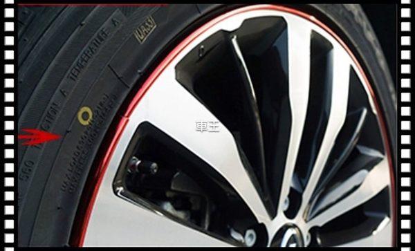 【車王小舖】S40 S60 S80 C30 V40 V60 V70 S70鋁圈 輪框 輪圈 裝飾條 保護條 防撞
