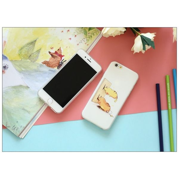 iPhone手機殼 充電皮卡丘&躲貓貓皮卡丘 浮雕磨砂軟殼 蘋果iPhone7/iPhone6/iPhone5手機殼