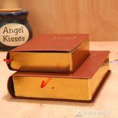 筆記本大號聖經本皮質加厚日記本記事本學生筆記本子創意復古文具空白本 酷斯特數位3C