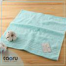 日本毛巾 / 居家實用款 : 珠寶盒_薄荷藍 34*35 cm (方巾 -- taoru 日本毛巾)