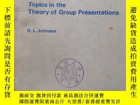 二手書博民逛書店Topics罕見in the theory of group p
