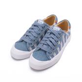 KEDS CREW KICK 條紋綁帶休閒鞋 靛藍 9202W122934 女鞋