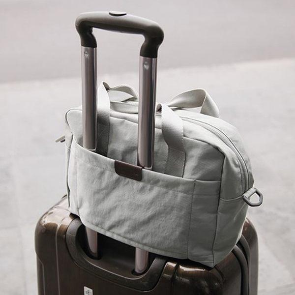 《WEEKEIGHT》韓風輕旅行防潑水多用途旅行袋/手提包/單肩包/斜背包