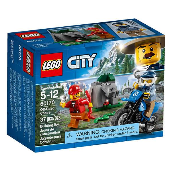 樂高積木LEGO 城市系列 60170 越野追逐戰