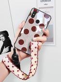 復古波點小米8手機殼女款8se全包防摔6x超薄玻璃屏幕指紋套6八個性創意探索版『新佰數位屋』
