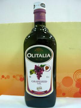 奧利塔~葡萄籽油1L/罐