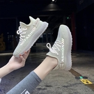 椰子鞋 回力女鞋跑步鞋女超輕便網面透氣運動鞋2021春夏款軟底飛織椰子鞋