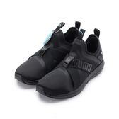 PUMA MEGA NRGY X 繃帶襪套跑鞋 黑 190946-01 女鞋