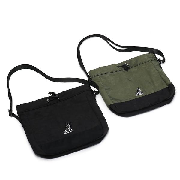 KANGOL 側背包 BUCKET BAG 兩色 縮口 尼龍 磁扣 束口 袋鼠 休閒 (布魯克林) 60553805-