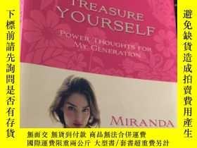 二手書博民逛書店TREASURE罕見YOURSELF POWER THOUGHTS FOR MY GENERATIONY583