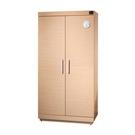 【買大送小】防潮家 SH-540 快速除濕型木質防潮櫃/鞋櫃/名牌包櫃 (白橡木) 480公升