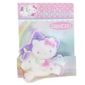 小禮堂 Hello Kitty 磁鐵夾 吸鐵夾 事務夾 造型夾 夾子 (紫 獨角獸) 4991567-26674