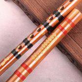 伶吟樂器E初學苦竹笛子成人C零基礎高檔專業橫笛D演奏G兒童F調紫