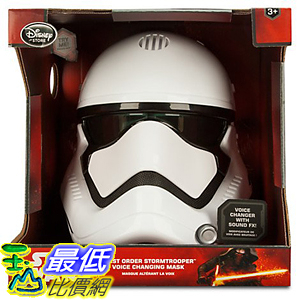 [美國直購] Star Wars 星際大戰 白武士 面具 The Force Awakens First Order Stormtrooper Voice Changing Mask