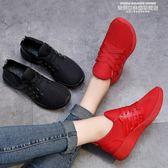 休閒鞋女老北京布鞋新款女韓版運動休閒鞋網鞋秋季網面板鞋冬棉鞋百搭 萊俐亞美麗
