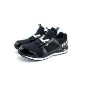 FILA 穿脫式 輕量 氣墊慢跑鞋《7+1童鞋》4213 黑色