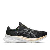 Asics Novablast [1011B059-001] 男鞋 慢跑 運動 休閒 輕量 支撐 緩衝 彈力 黑 金