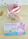 【震撼精品百貨】Hello Kitty 凱蒂貓~KITTY證件套附繩-兔子蛋糕圖案