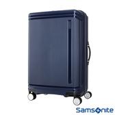 Samsonite新秀麗 28吋Hartlan 高質感防潑水PP飛機輪TSA行李箱(海軍藍)