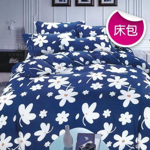 【R.Q.POLO】新絲柔系列-芬芳花語 三件式枕套床包組(雙人標準5X6.2尺)