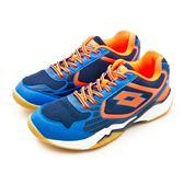 LIKA夢 LOTTO 專業透氣羽球鞋 APOLLO 阿波羅系列 藍螢橘 6906 男