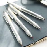 優品系列中性筆AGP787901按動中性筆0.5mm磨砂桿簽字筆【快速出貨免運】
